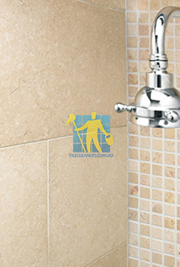 limestone tile shower thala cream Sydney cleaning