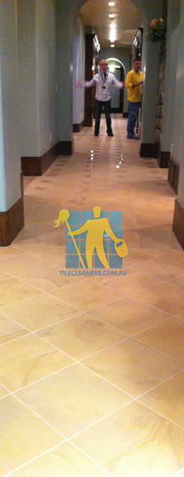 traditional entry with large porcelain tiles were laid in a basketweave pattern Narraweena